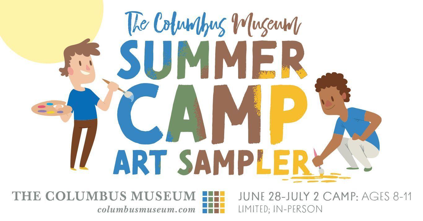Summer Camp Art Sampler - 8-11 Year Olds