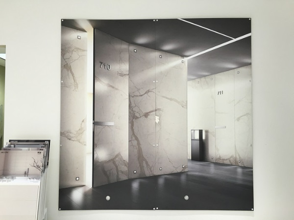 Product showroom wall murals Anaheim CA