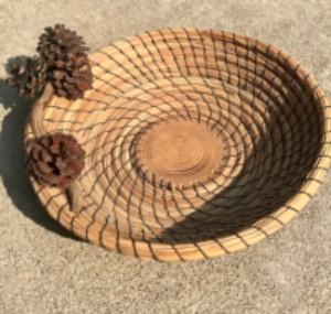 Ponderosa Pine Basket Weaving