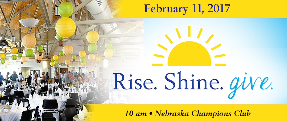 Rise. Shine. Give. 2017