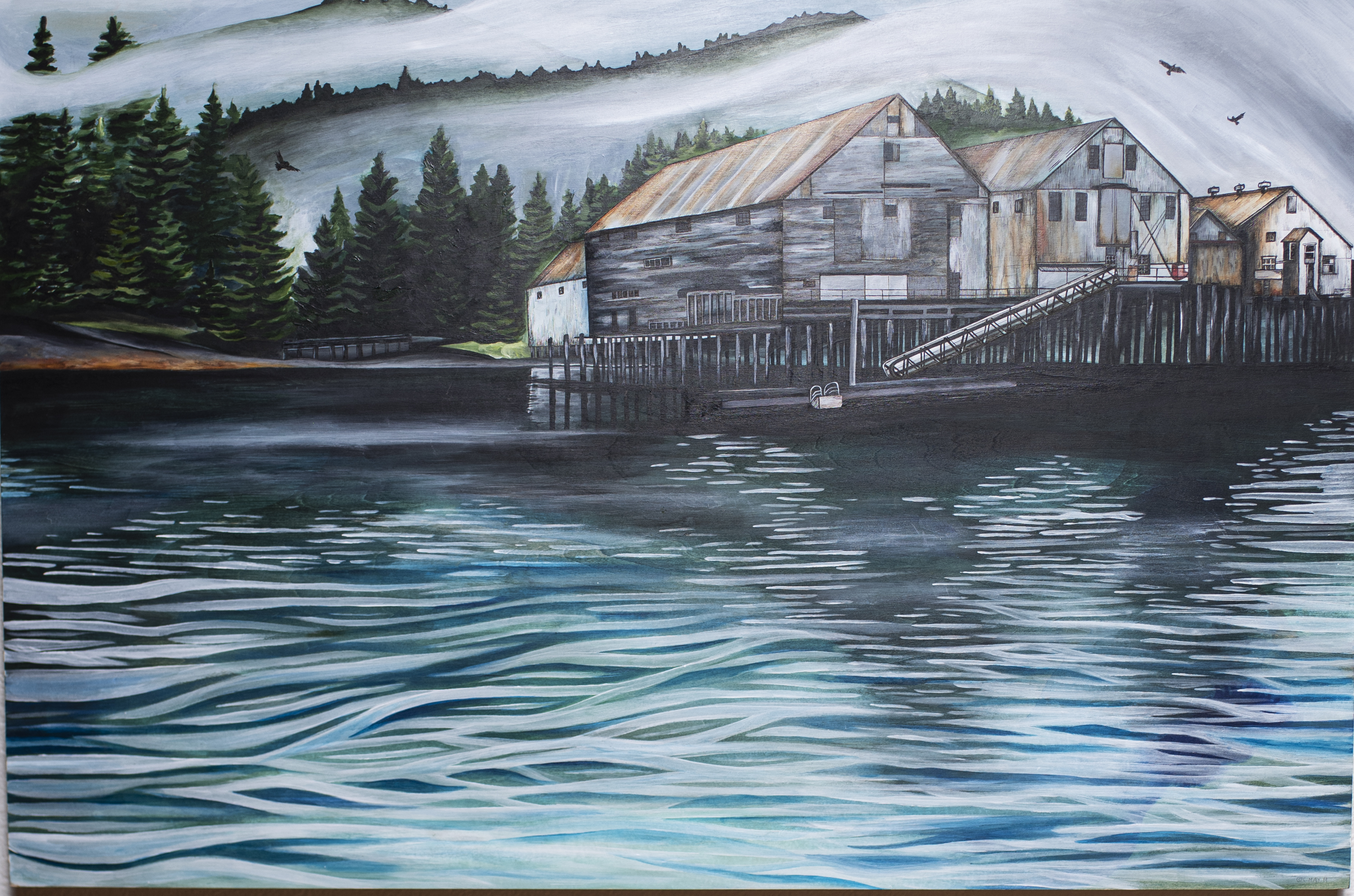 """Cammie May - """"George Inlet Cannery"""""""
