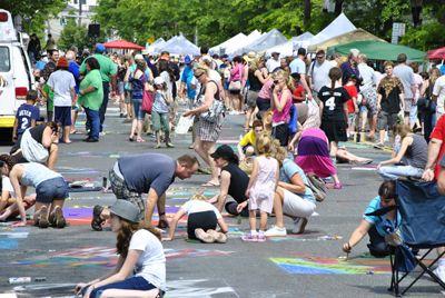 Mosaic Street Painting Festival 2020