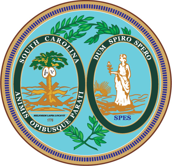 W32450 - Great Seal of South Carolina Wall Plaque