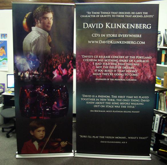 David Klinkenberg Retractable Banners