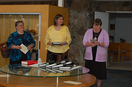 Congratulations and blessings to our new postulant, Krista Ferrell