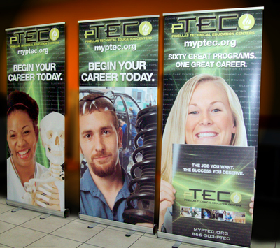 Economy Roll Up Banner