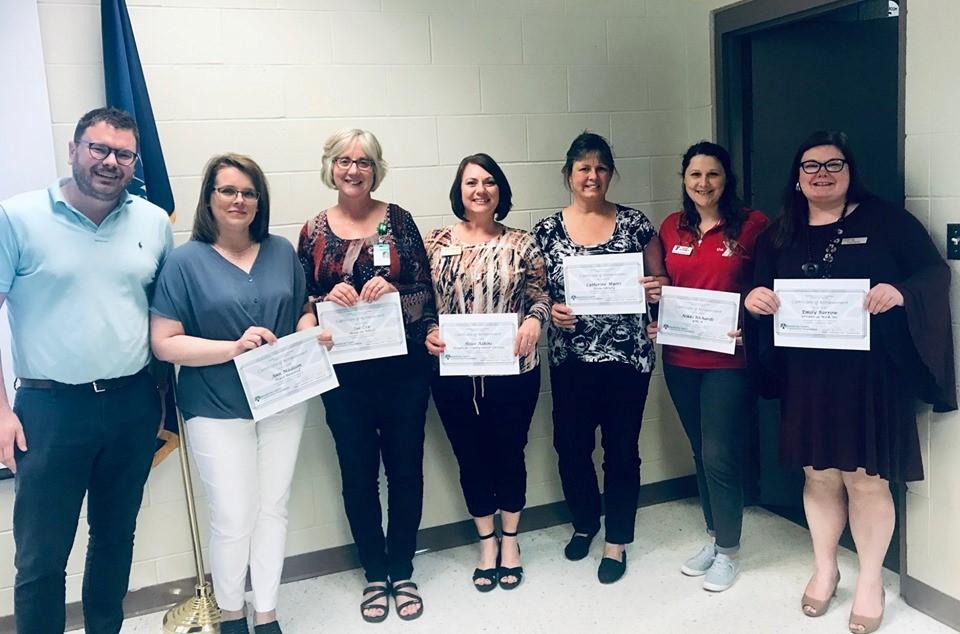 Seven NonProfit Leaders Complete HCCF Nonprofit Learning