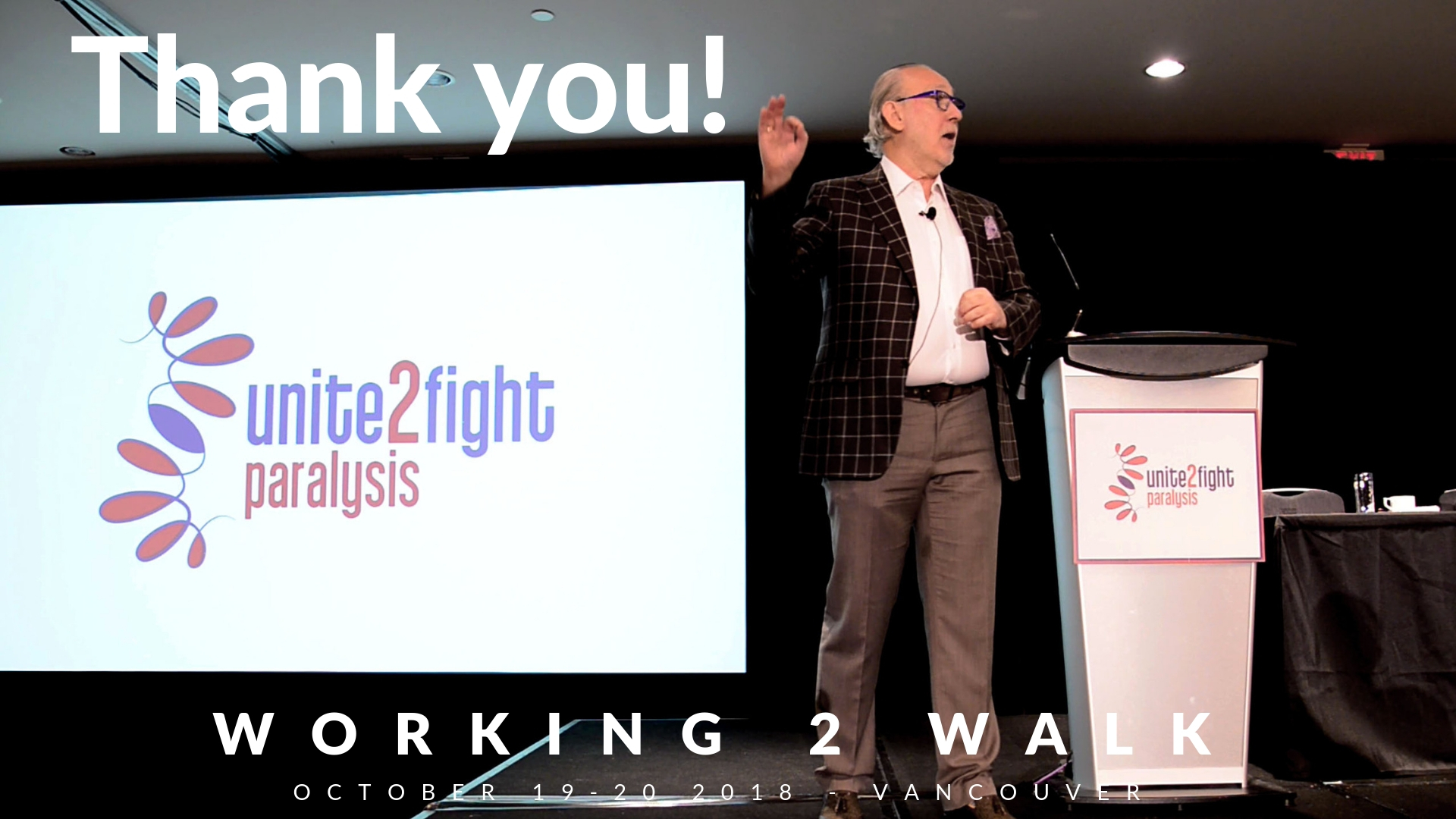 Working 2 Walk 2018 - Thank You!