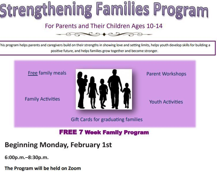 Strengthening Families (Virtual)