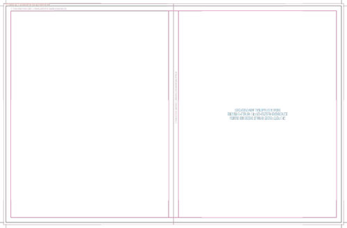 Templates For Accurate Printing - 85 x11 brochure template