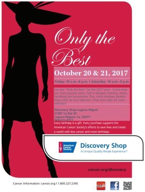 Discovery Shop Designer Sale