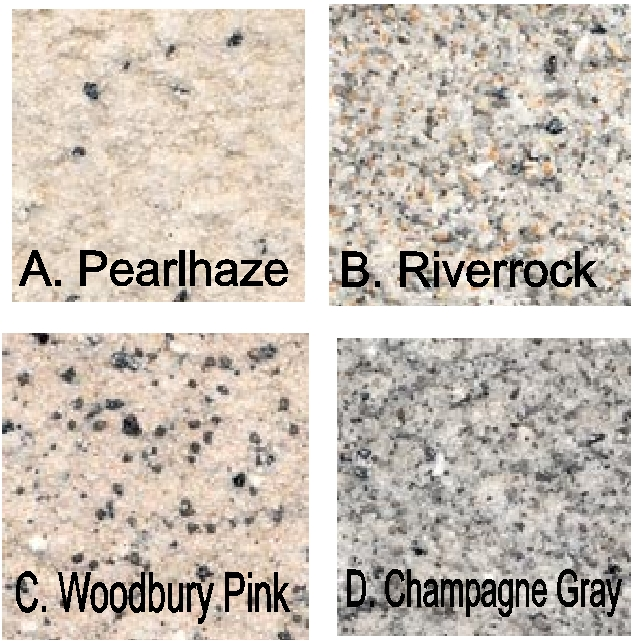 M6925 - Marble & Granite Patterns #1- #4 for Monument Signs