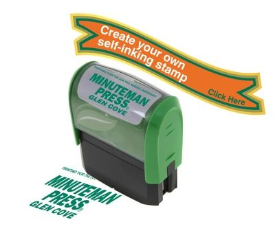 Create your own self inking stamp, custom rubber stamps, custom stamps