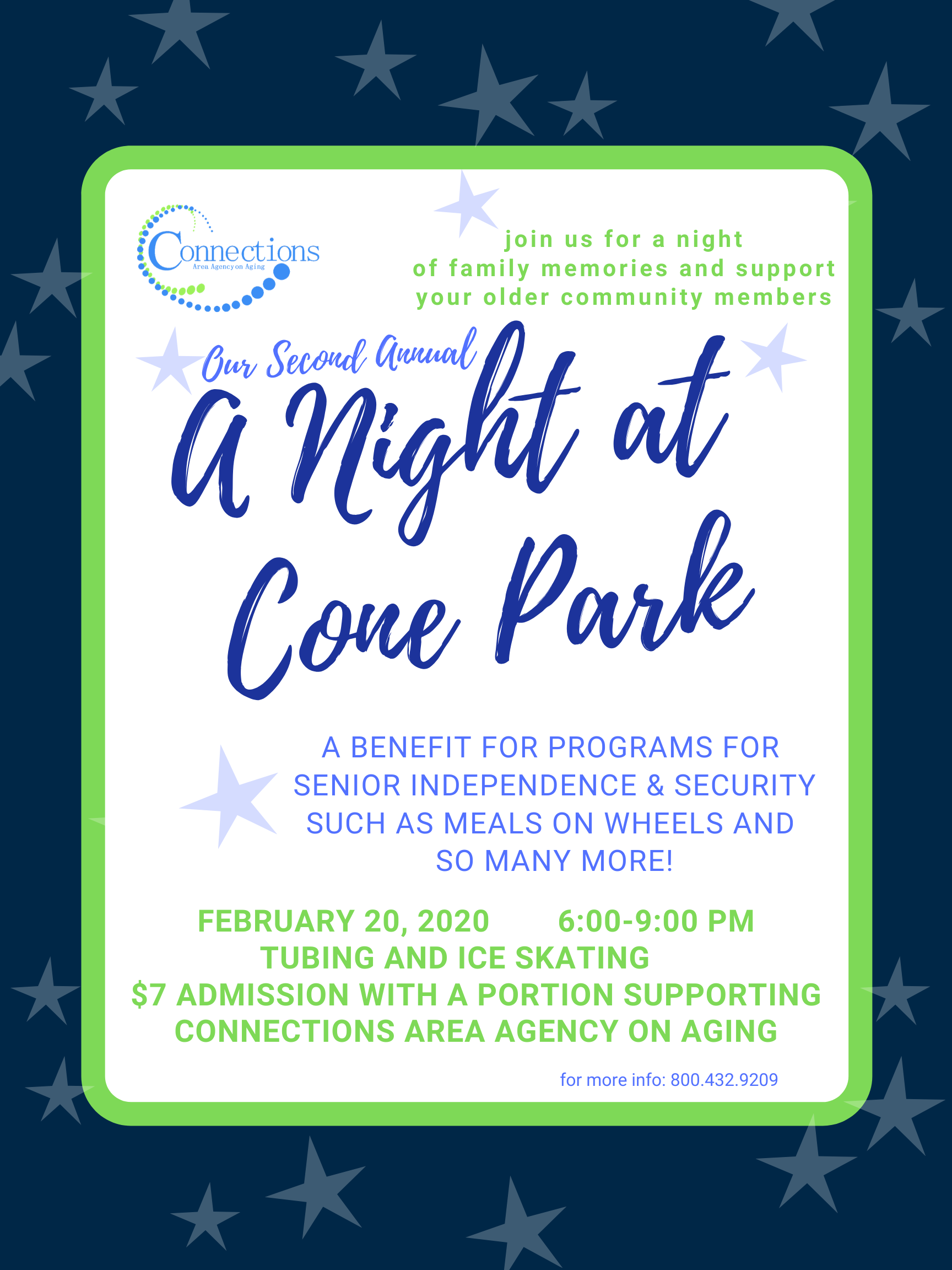 A Night at Cone Park Family Fun-Fundraiser