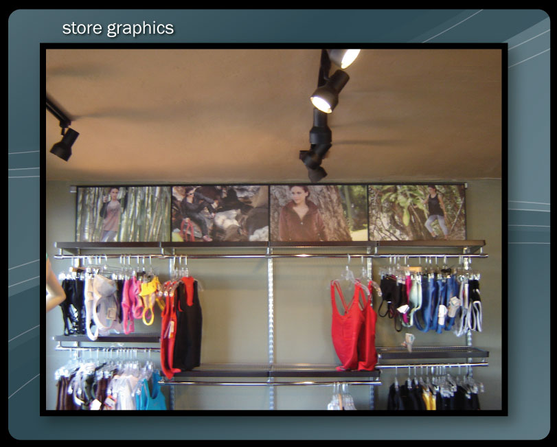 IN STORE GRAPHICS