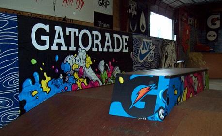 Skate Park Mural