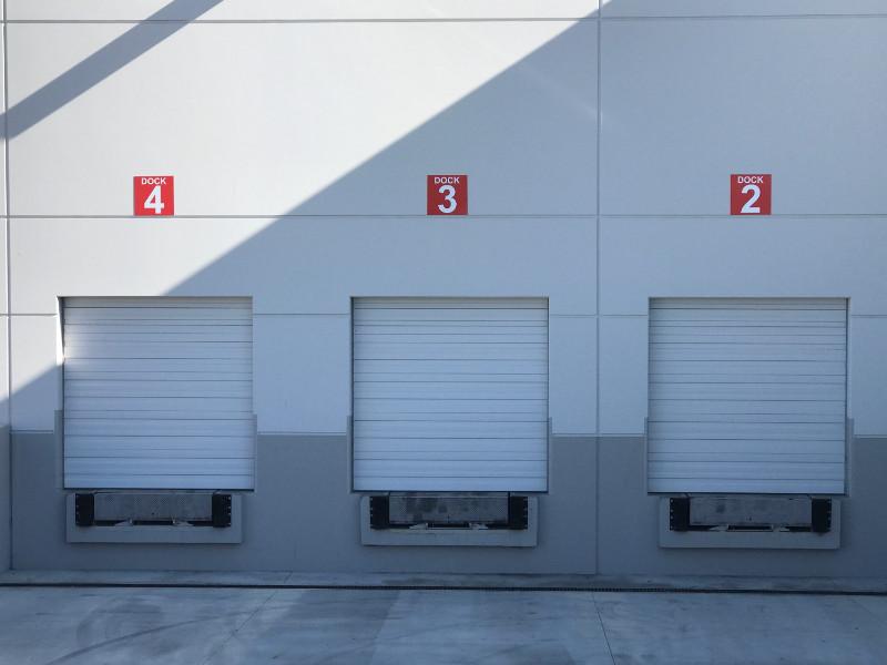 Dock Number Signs