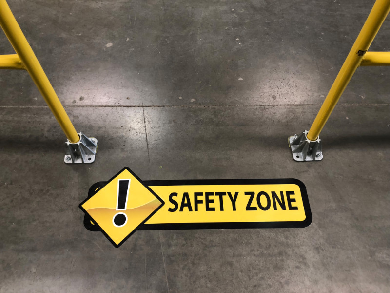 Warehouse Safety Signs and Graphics | Southern California