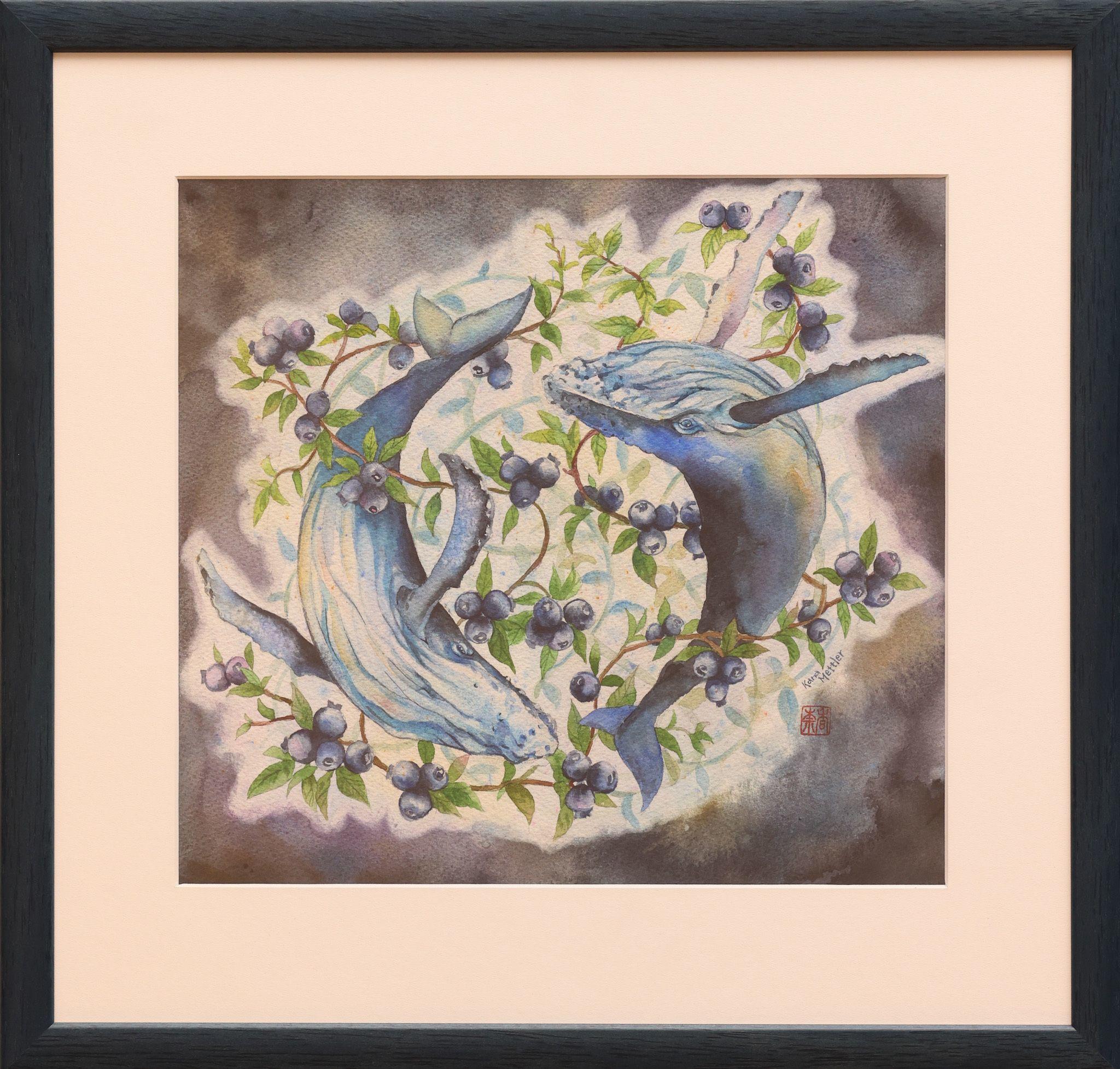 """""""Blueberry Seas"""" - Kana Mettler"""