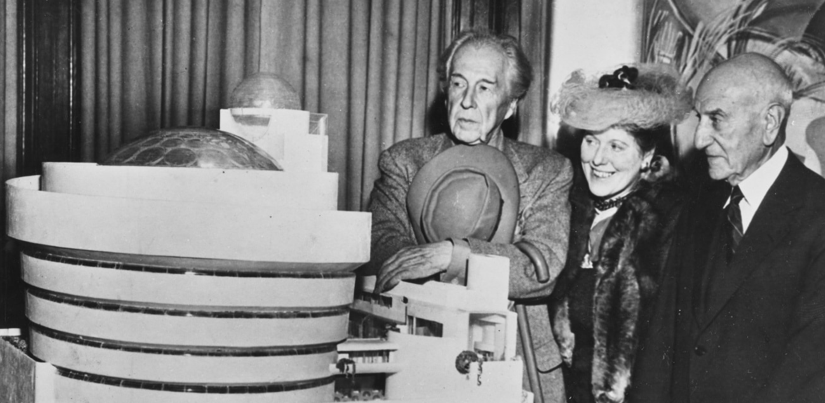 PLACEHOLDER  The Guggenheim Museum and Hilla Rebay, Frank Lloyd Wright