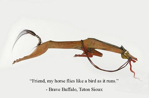 Sioux Horse Effigy
