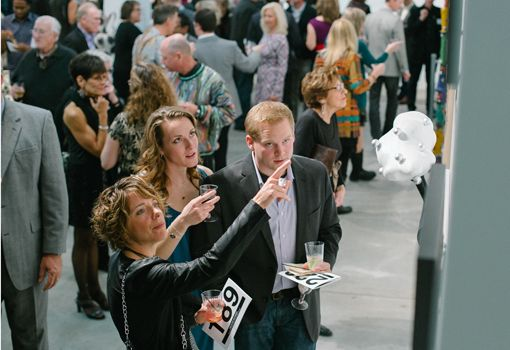 BE FIRST - Preview Night | Bemis Benefit Art Auction 2015