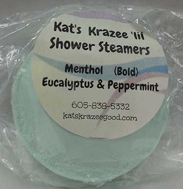 Katz Krazee Good Shower Steamers