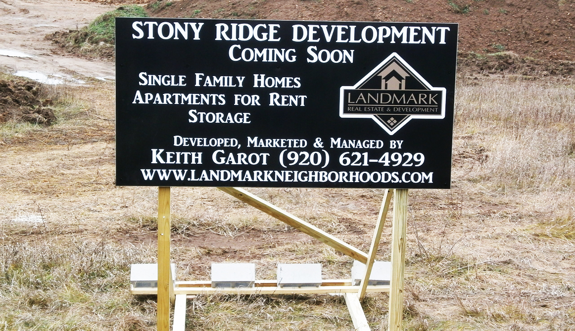 Real Estate/Development/Site Signs