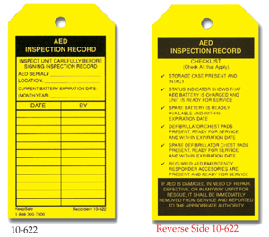 AED Inspection Record