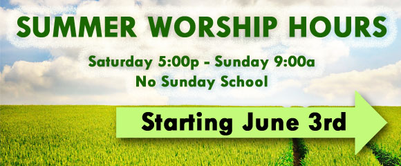 Summer Worship 2018