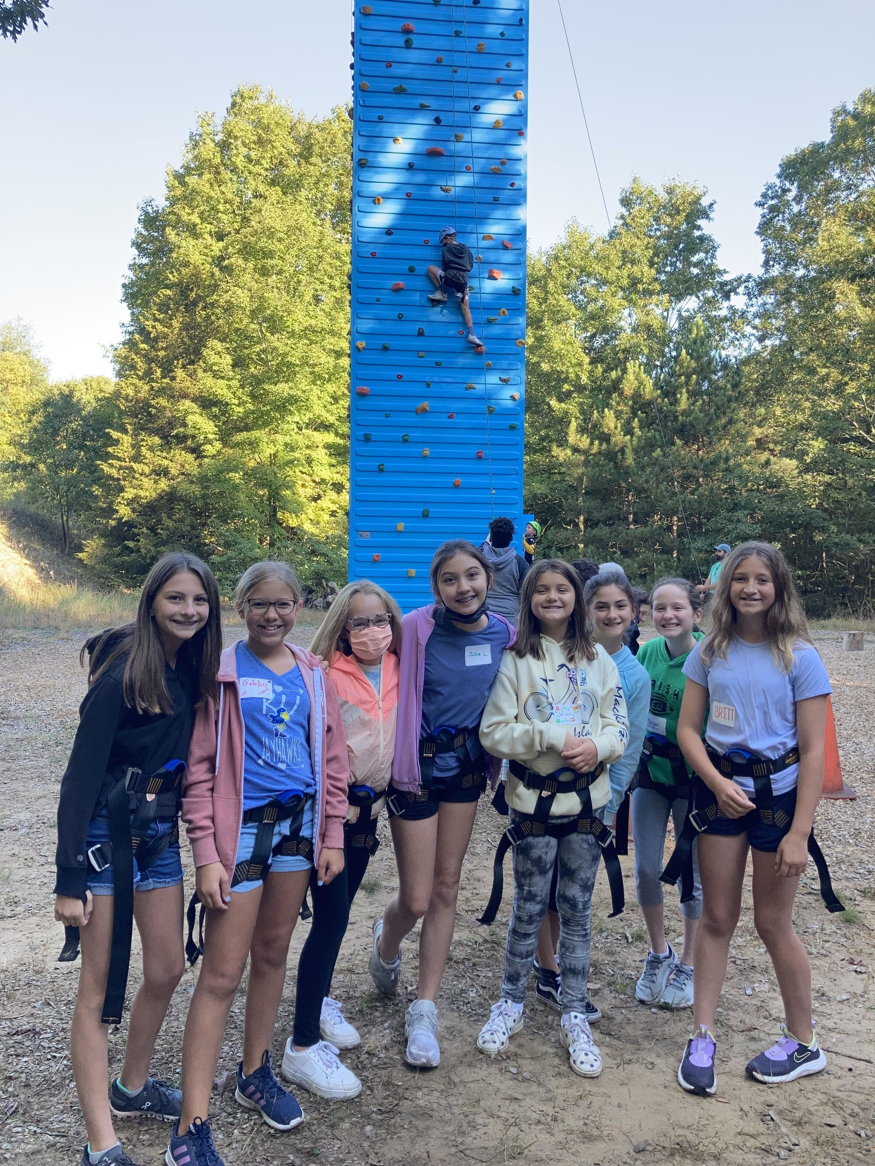 Sixth Graders Connect at Camp Blodgett Thanks to Foundation Grant