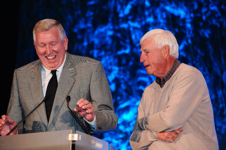 Bill Hosket and Bob Knight