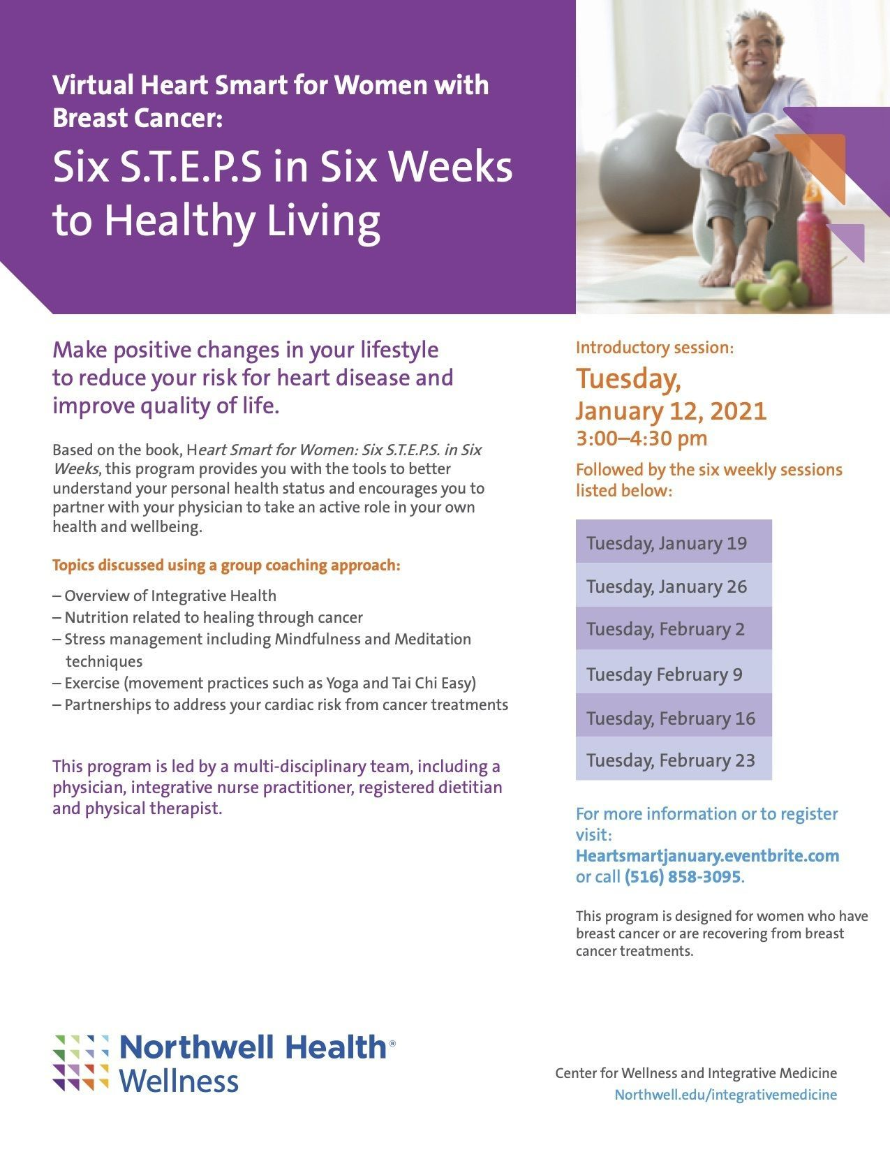 Six S.T.E.P.S. in Six Weeks to Healthy Living