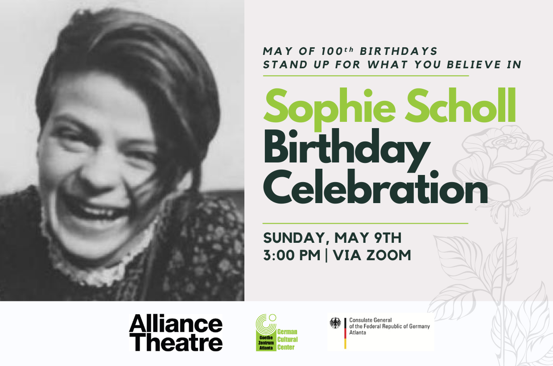 Sophie Scholl Birthday Celebration