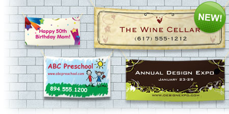 Banner Printing in Clifton, Montclair & Northern NJ Area