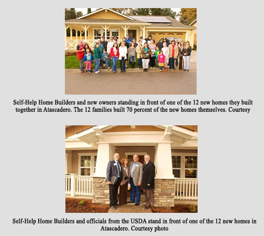 Peoples' Self-Help Housing, USDA hand house keys to 12 Atascadero families - Amigos805