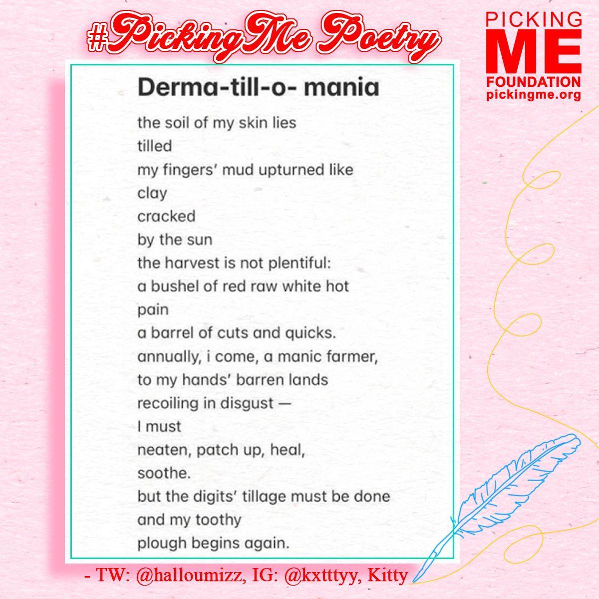 #PickingMe Poetry