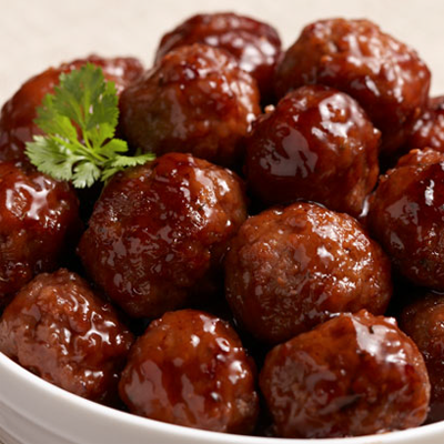 Barbeque Meatballs