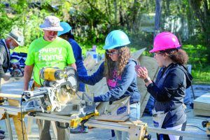 Saint Leo partners with Habitat for Humanity