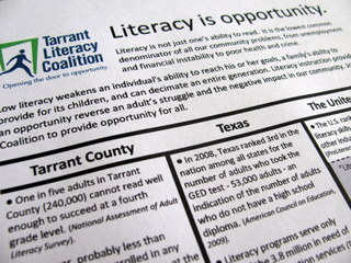 Download a Literacy Fact Flyer
