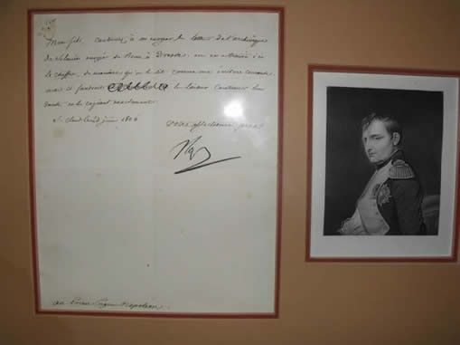 Rare Napoleon Letter donated to the National Cryptologic Museum Foundation by Dr. David Kahn