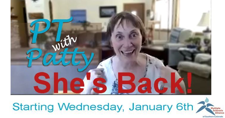 PT with Patty Returns!