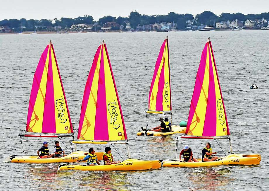 Earth science, sailing keep New Haven campers busy, thanks to Land trust, Solar Youth