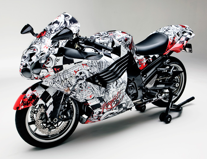 Vinyl Wrap Designs For Motorcycles Autos Post