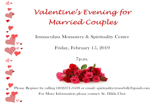 Valentine's Day Event for Married Couples