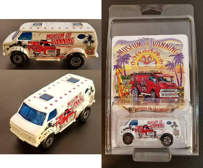 Museum Logo Toy Van