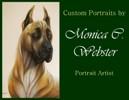 Custom Portraits by Monica C. Webster, Portrait Artist