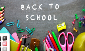 It's Time to Plan for Back to School!