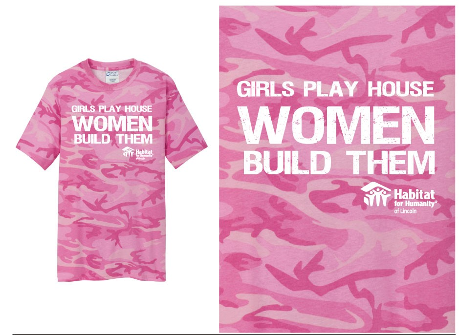Women Build T-Shirt (L)