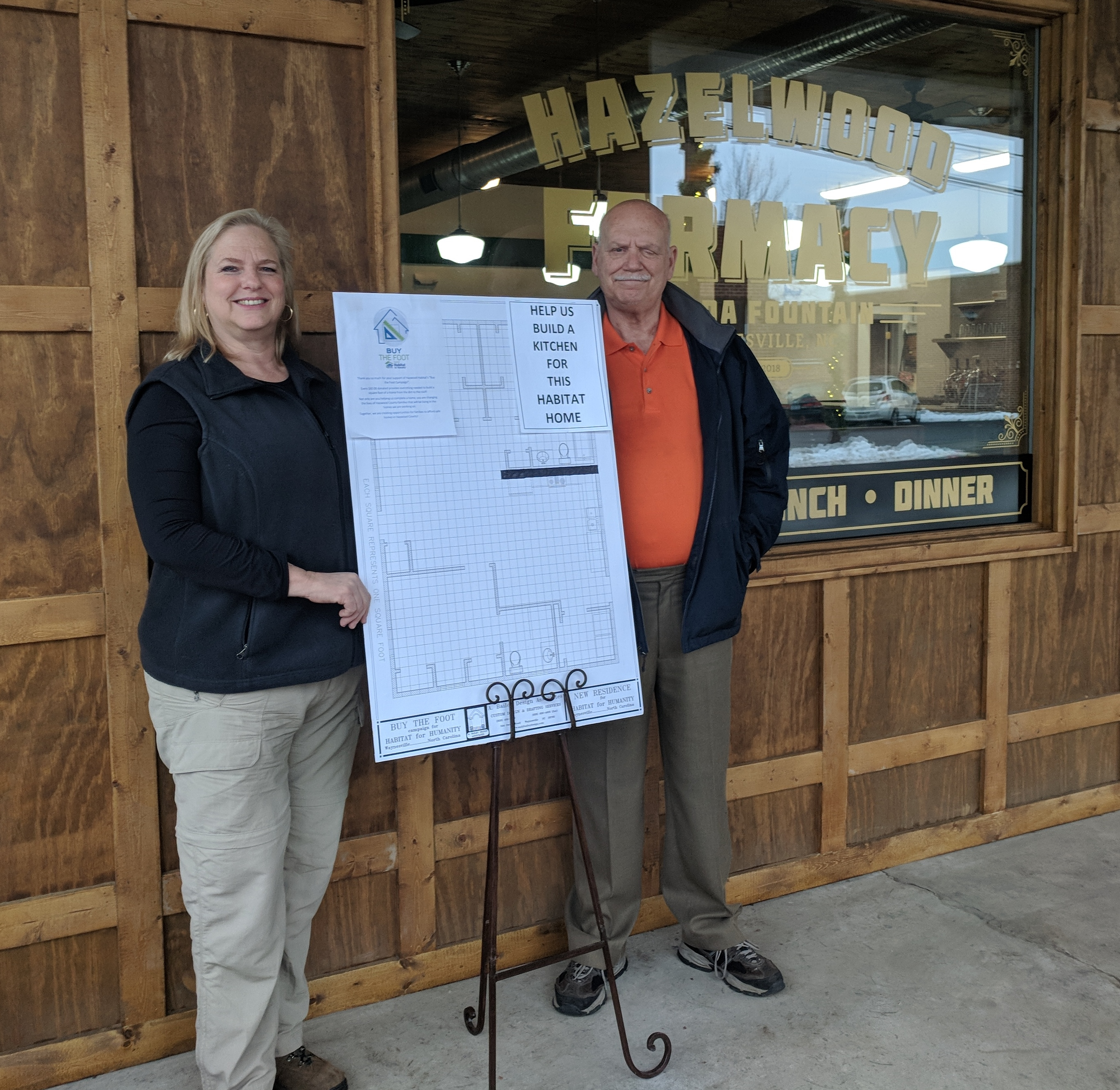 New restaurant raising funds for a home